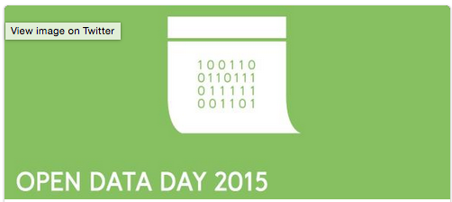Storify of Open Data Day 2015