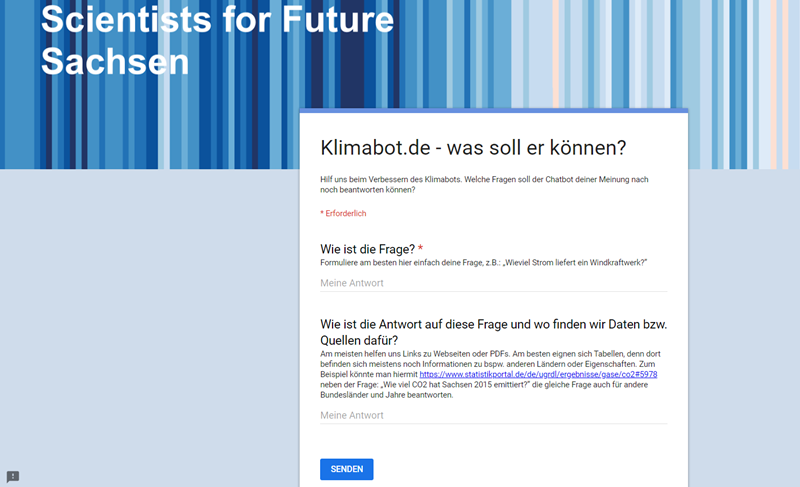 Screenshot Klimabot